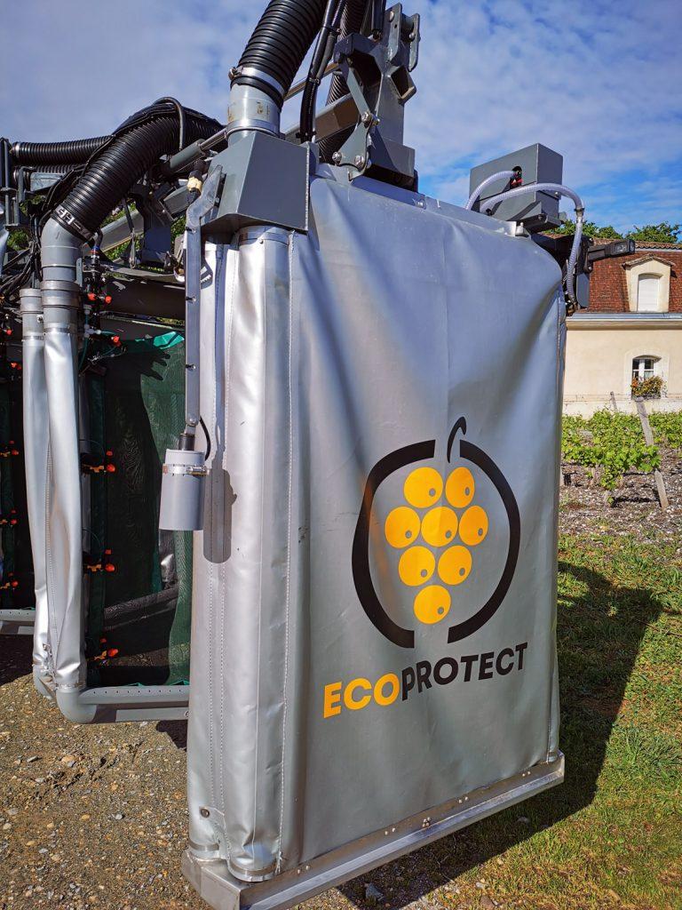 Ecoprotect Cellule S6 panneau gonflable pour traitement confine par un prestataire à leognan